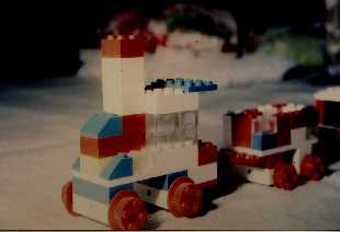 Train LEGO : juin 1966