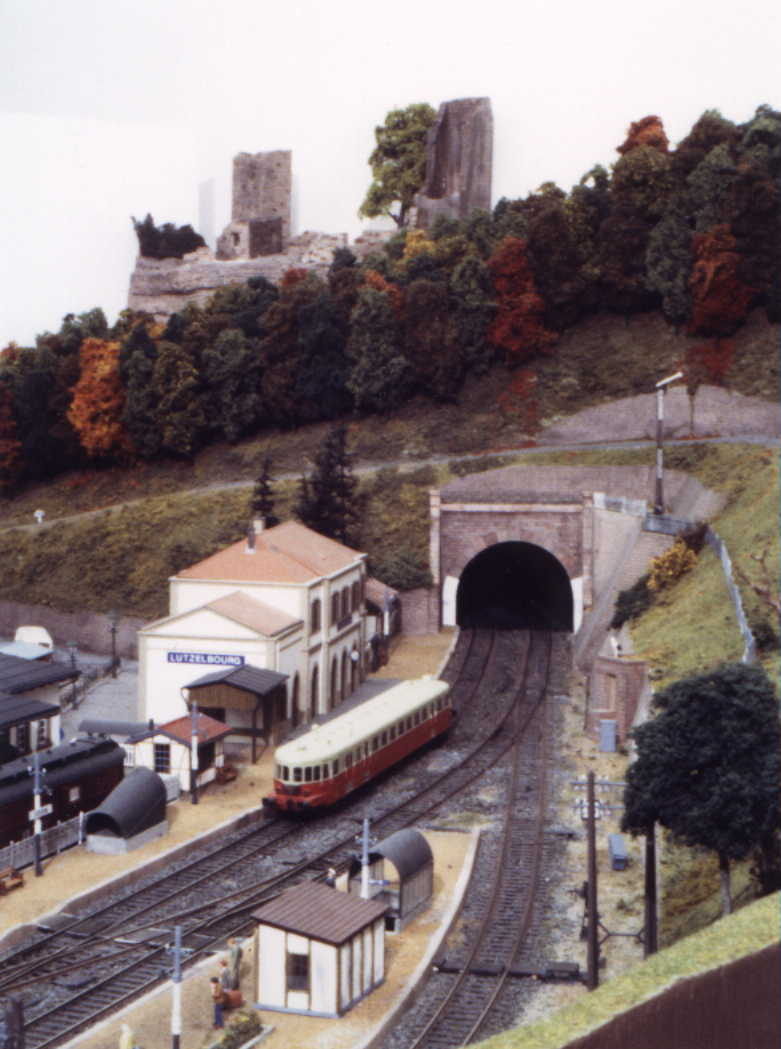 BV, tunnel et chateau